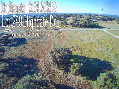 2.54 Acres In Bandera County : Bandera : Texas