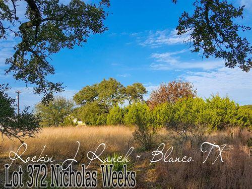 .38 Acres In Blanco County : Blanco : Texas