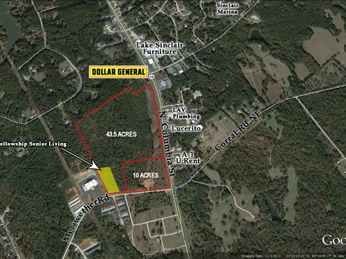 Mixed Use Development Opportunity : Milledgeville : Baldwin County : Georgia