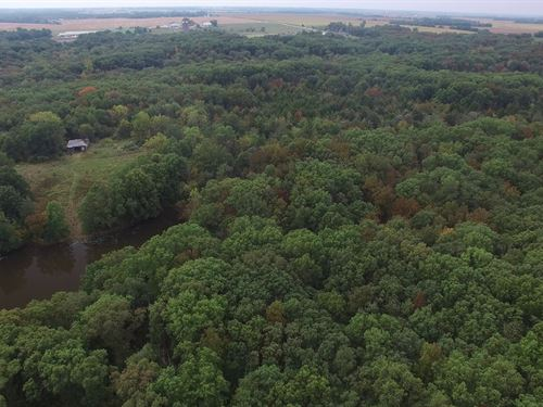 119 Acres Pike 36 : Bowling Green : Pike County : Missouri