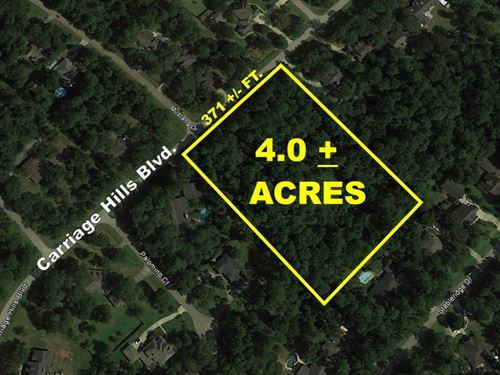 Carriage Hills 4Ac : Conroe : Montgomery County : Texas