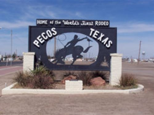 One Of Three Adjacent Level Lots : Pecos : Reeves County : Texas