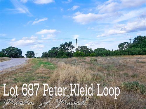 .29 Acres In Blanco County : Blanco : Texas