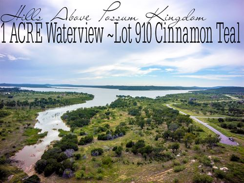1.027 Acres In Palo Pinto County : Graford : Palo Pinto County : Texas