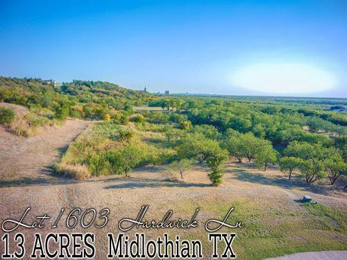 1.30 Acres In Ellis County : Midlothian : Ellis County : Texas