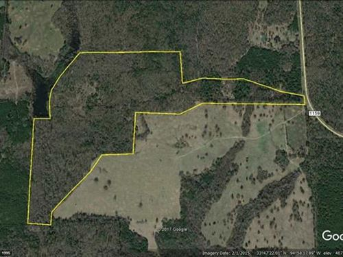 Lots Of Acreage : Clarksville : Red River County : Texas