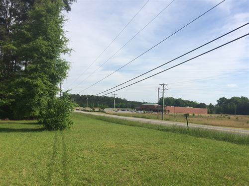 Redevelopment Site In Clinton : Clinton : Laurens County : South Carolina