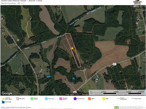 13+ Acres in Rowan County : Mount Ulla : Rowan County : North Carolina