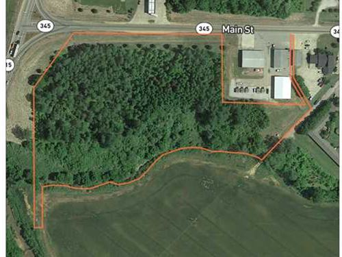 7.26 Acres Hwy 345 Ecru, MS : Ecru : Pontotoc County : Mississippi