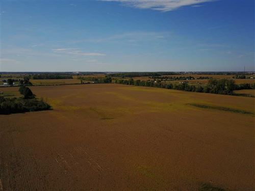 54 Acres of Prime Farmland in The : Fortville : Hancock County : Indiana