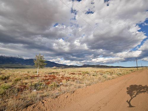 Magnificent Mountain Backdrop : Blanca : Costilla County : Colorado