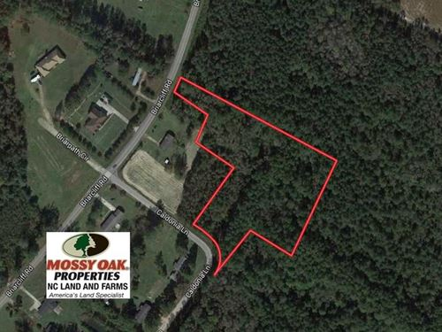 3.6 Acres of Residential And Timbe : Lumberton : Robeson County : North Carolina