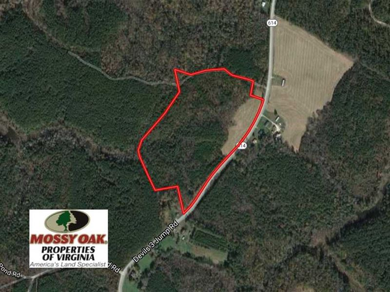 Under Contract, 29 Acres of Resid : Little Plymouth : King And Queen County : Virginia