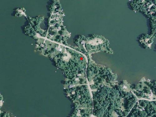 Wooded Lot Lake Miramichi Access : Evart : Osceola County : Michigan