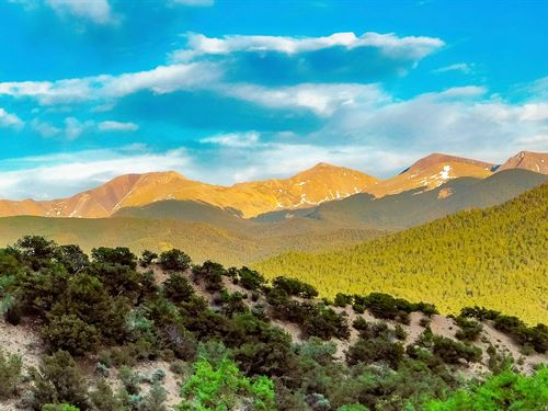 Wooded Acreage With Mountain Views : San Luis : Costilla County : Colorado