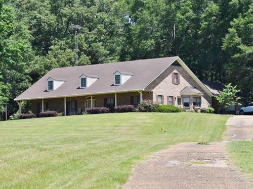 2 Homes Timber Hunting Recreational : Fayette : Jefferson County : Mississippi