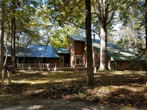 9.67 Ac W/ Rustic Hm W/ Lake & Mtn : Celina : Clay County : Tennessee