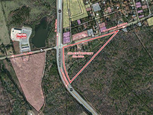 Commercial Land For Development : Eatonton : Putnam County : Georgia