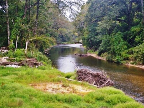 Waterfront Property For Sale On Mag : Tylertown : Walthall County : Mississippi