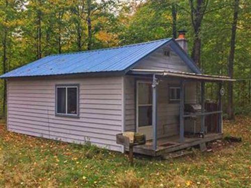 Wolf Lake Rd Cabin 1105104 : Champion : Marquette County : Michigan