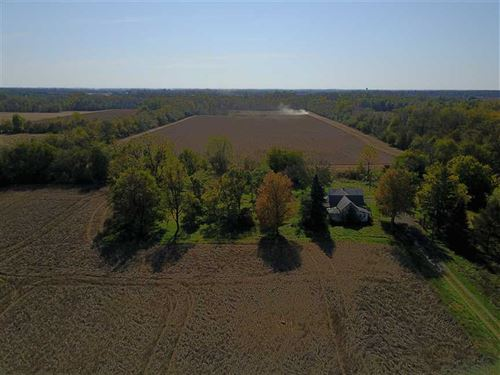 55 Acres - W 1300 N Alexandria, IN : Alexandria : Madison County : Indiana