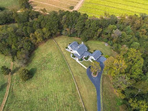 47 Acres + 4,687 Sqft Farm House : Jonesville : Yadkin County : North Carolina