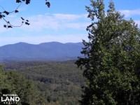Mountain View Homesite in Gated Com : Ellijay : Gilmer County : Georgia
