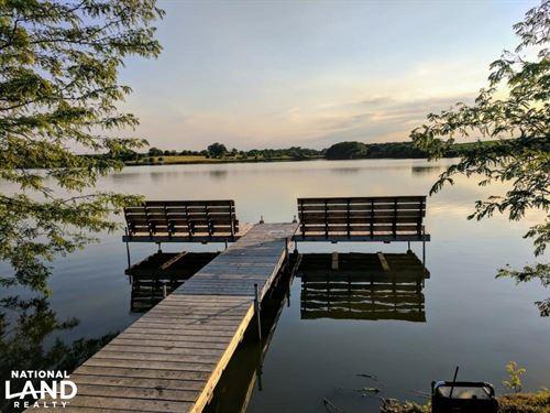 Saline County Lake & Woods : Friend : Saline County : Nebraska