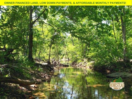 2.4 Acres, Campsite With Creek : Thomasville : Oregon County : Missouri