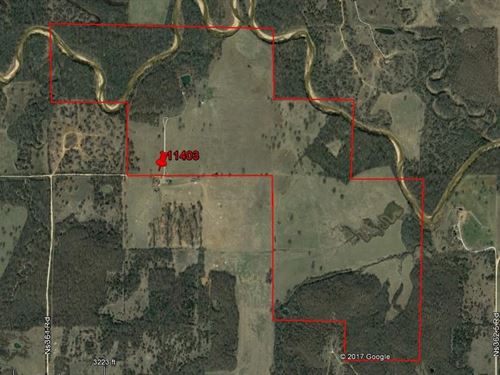 420 Acre Farm/Ranch For Sale : Sasakwa : Seminole County : Oklahoma