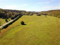 76 Acres With a Hayfield, Past : Marshall : Searcy County : Arkansas