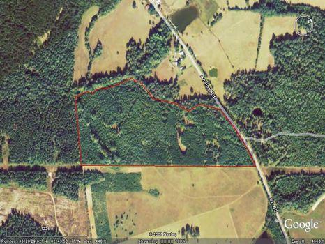 51.69 Acres : Warrenton : Warren County : Georgia