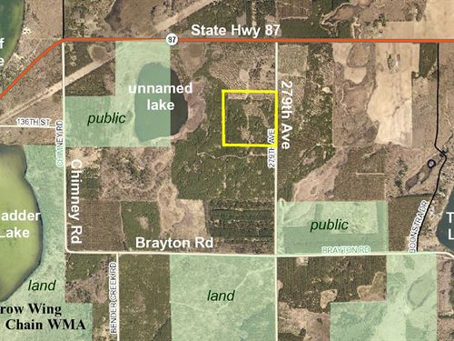 Hubbard, Cw Lake, 1393313, Sene : Nevis : Hubbard County : Minnesota