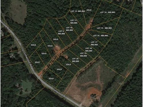 1+ Acre in Brawley Woods, Iredell : Mooresville : Iredell County : North Carolina
