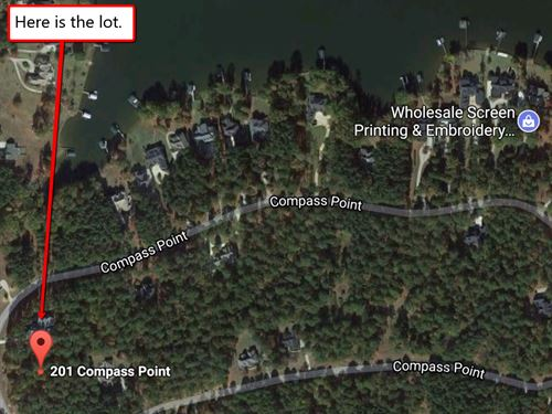 1 Ac Golf Lot Wholesale Deal : Ninety Six : Greenwood County : South Carolina