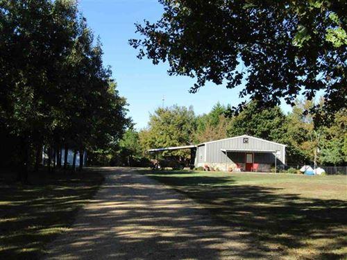 Land With Home : Paris : Lamar County : Texas