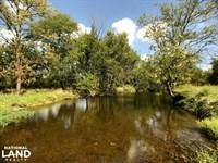Deer Creek Hunting or Hobby Farm : Maple Grove : Jasper County : Missouri