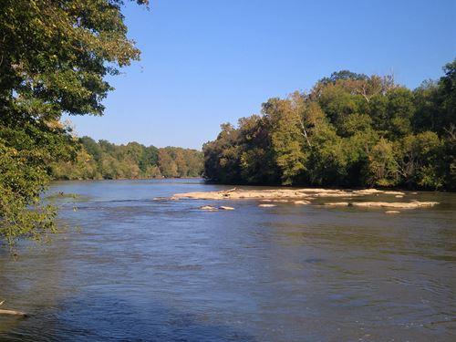 Land On The Broad River : Carlisle : Union County : South Carolina