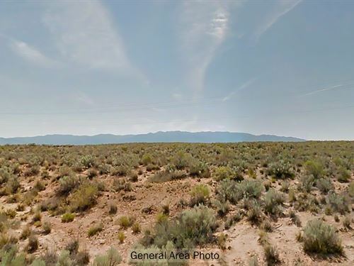 Open, Rural New Mexico Land : Belen : Valencia County : New Mexico