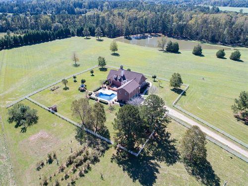 Gorgeous Southern Estate : Griffin : Spalding County : Georgia