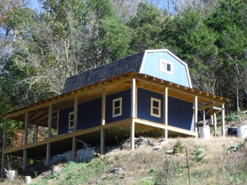 89.50 Ac W/Camper, Unfinished Cabin : Dowell : Dekalb County : Tennessee