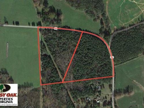 20 Acres of Timberland For Sale in : South Hill : Lunenburg County : Virginia
