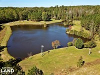 Peterman Turn-Key Lodge & Lake Retr : Peterman : Monroe County : Alabama