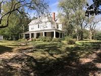 Spectacular Farmhouse On 23 Acres : Griffin : Spalding County : Georgia