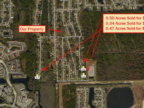 Large Acreage In Jacksonville : Jacksonville : Duval County : Florida