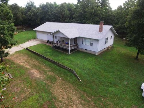 Home on 15 Acres For Sale in Carte : Van Buren : Carter County : Missouri