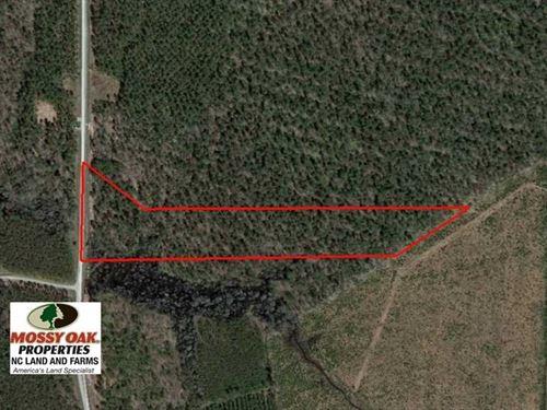 Reduced, 11 Ac Residential Lot WI : Edenton : Chowan County : North Carolina