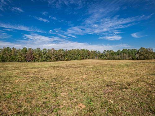 Open 5 Acre Lot Ready To Build : Monroe : Walton County : Georgia