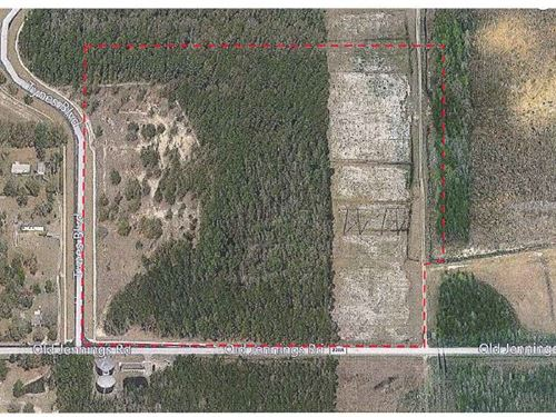 Land. Approx 20.3Ac Lot : Middleburg : Clay County : Florida
