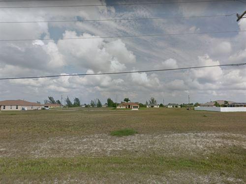 .34 Acres In Cape Coral, FL : Cape Coral : Lee County : Florida
